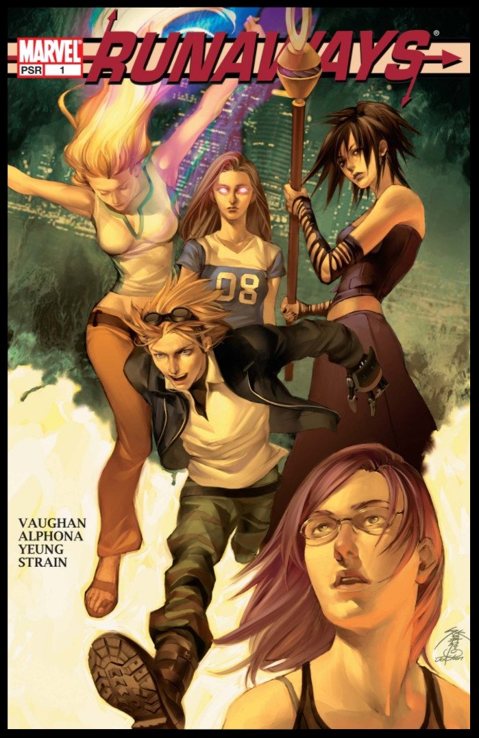 Runaways (2005) #1 Cover