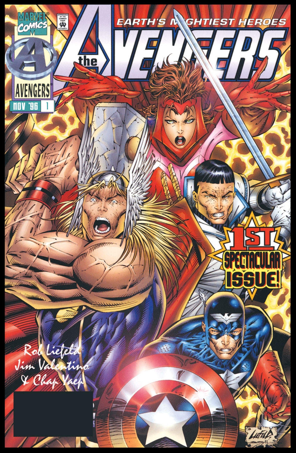 The Avengers (1996) #1 Cover