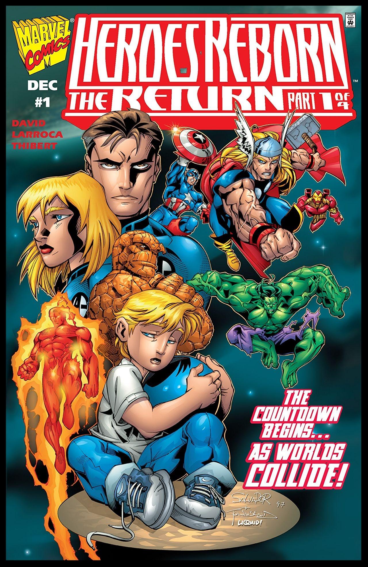 Heroes Reborn: The Return #1 Cover