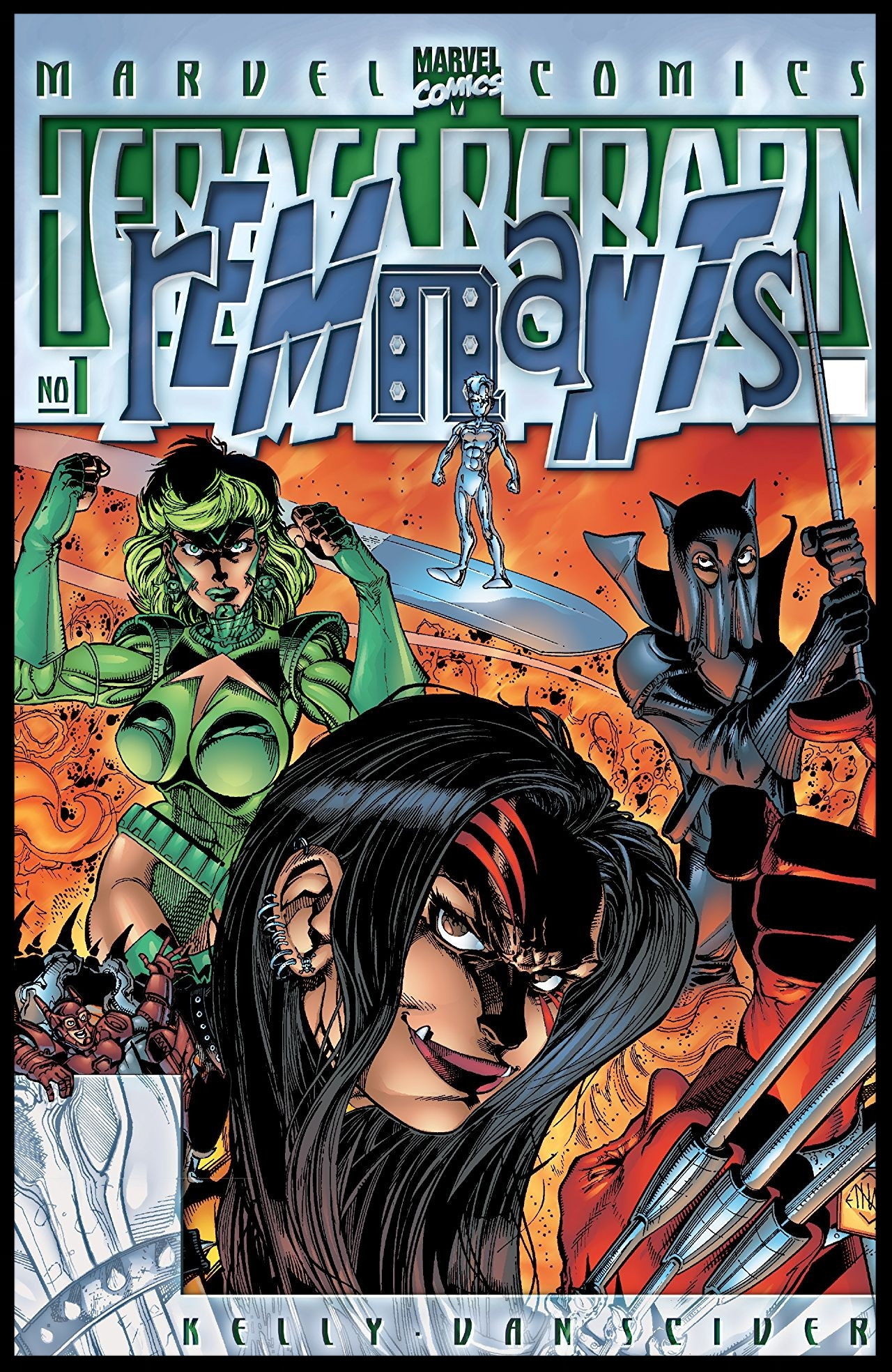 Heroes Reborn: Remnants #1 Cover