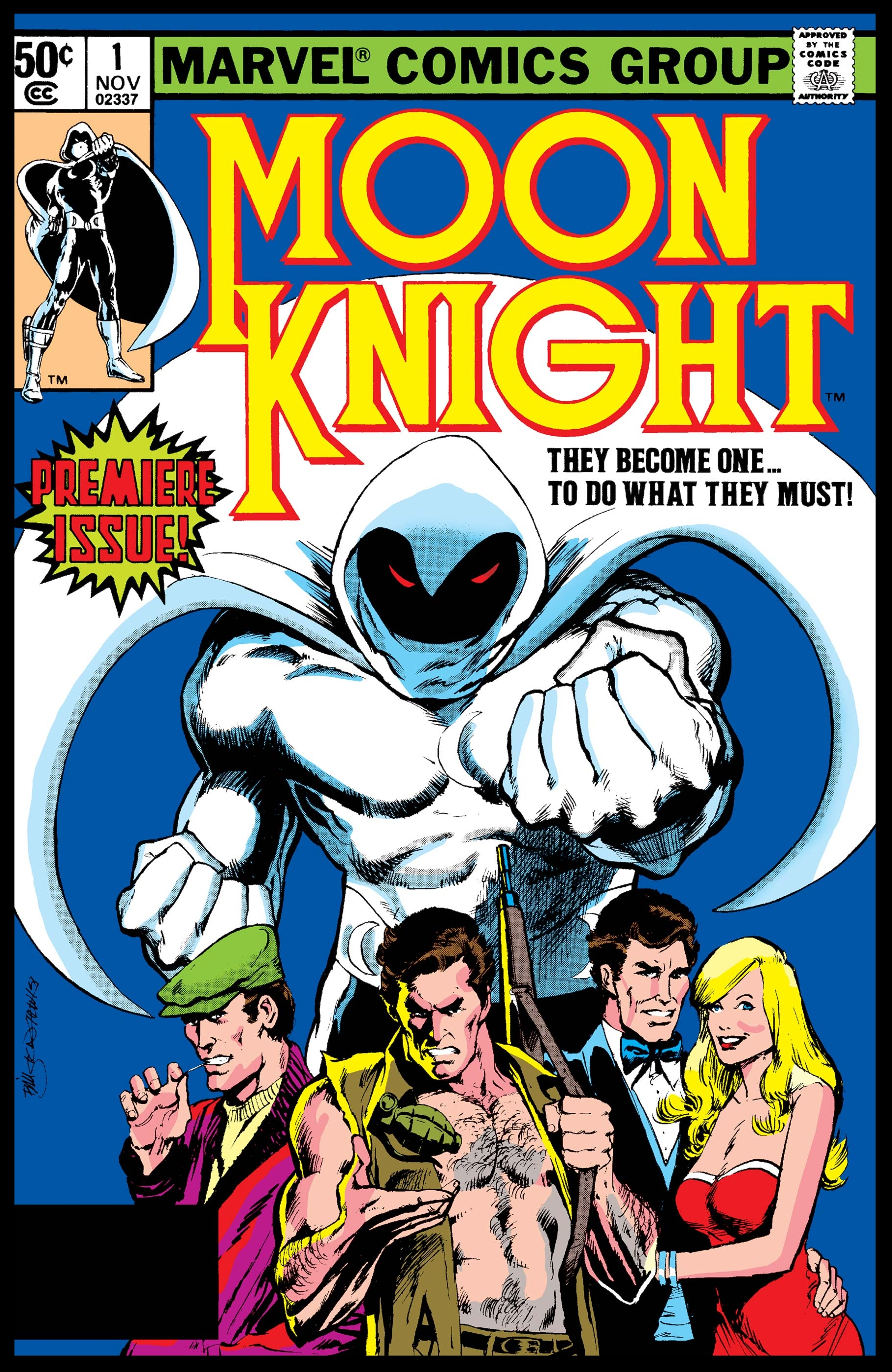 Moon Knight (1980) #1 Cover