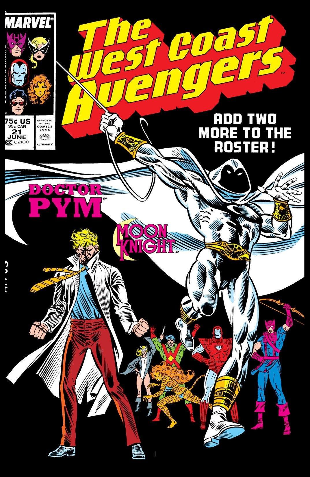 West Coast Avengers #21 Cover