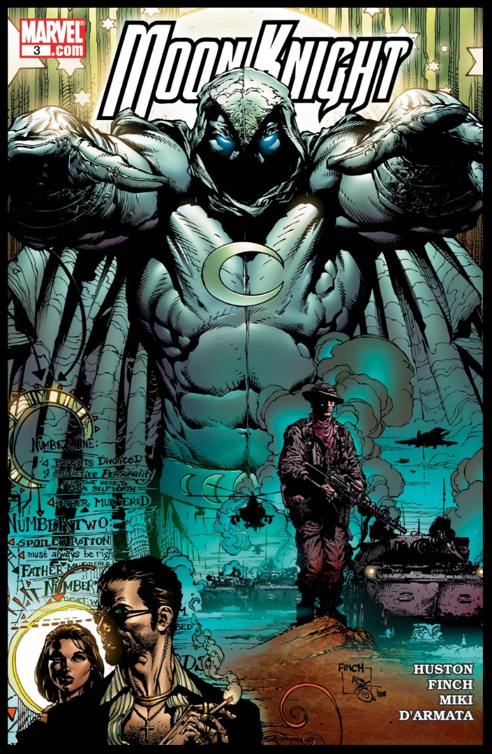 Moon Knight (2006) #3 Cover