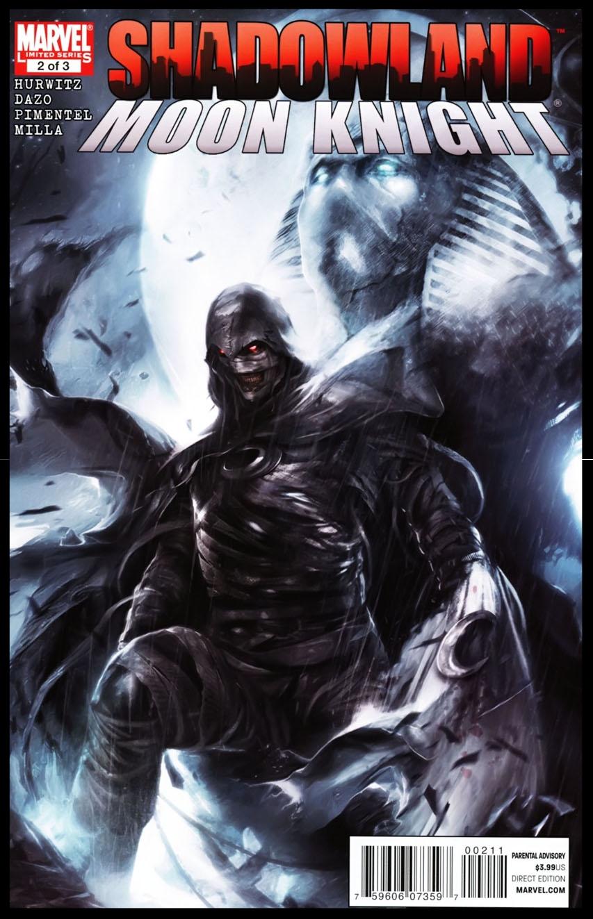 Shadowland: Moon Knight #2 Cover