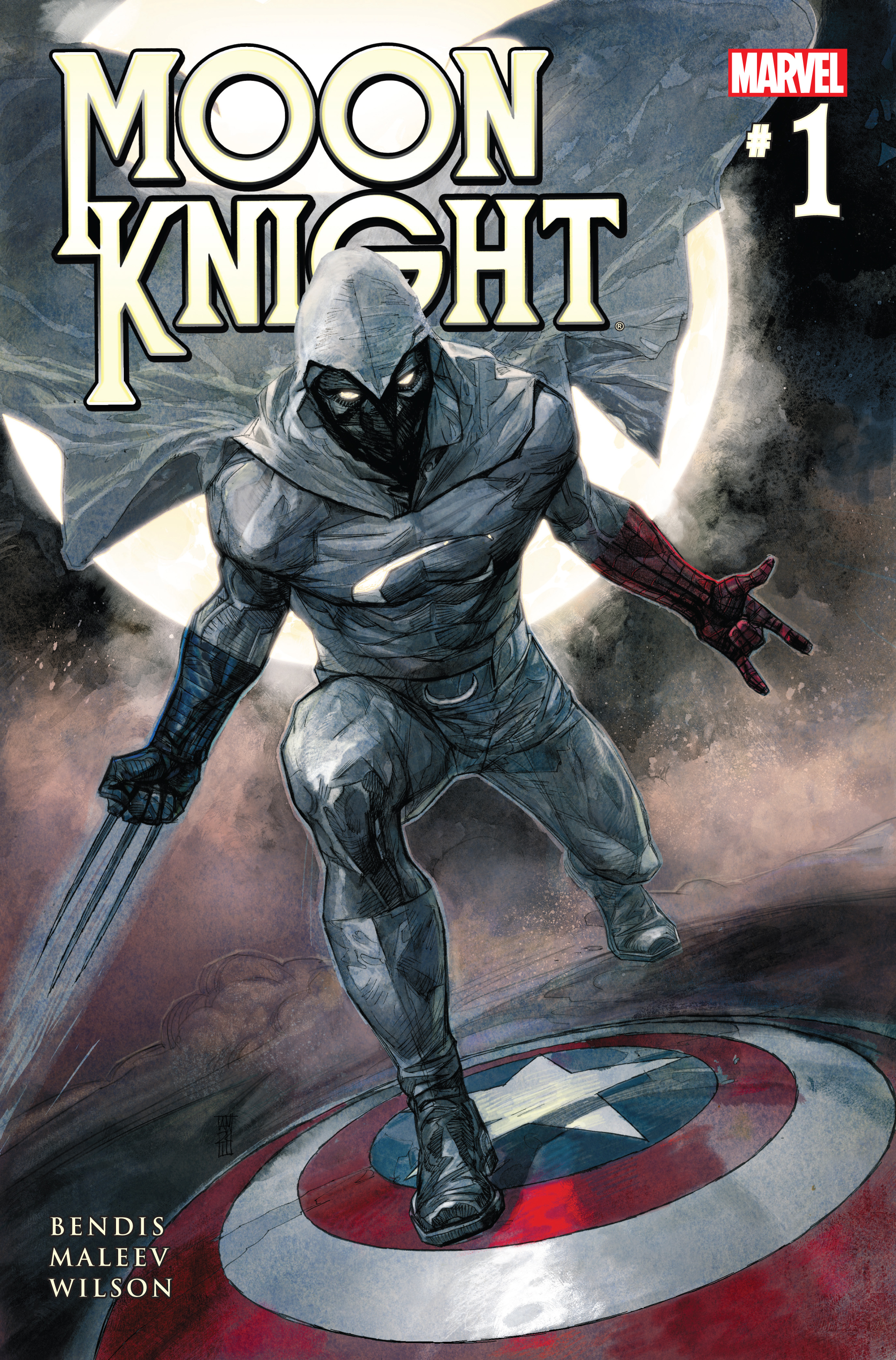 Moon Knight (2011) #1 Cover