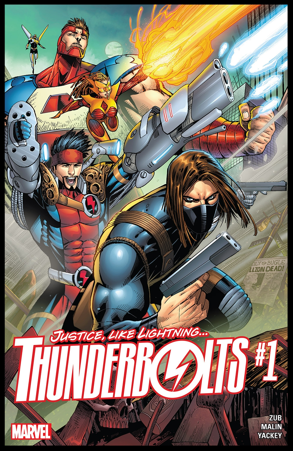 Thunderbolts (2016) #1 Cover