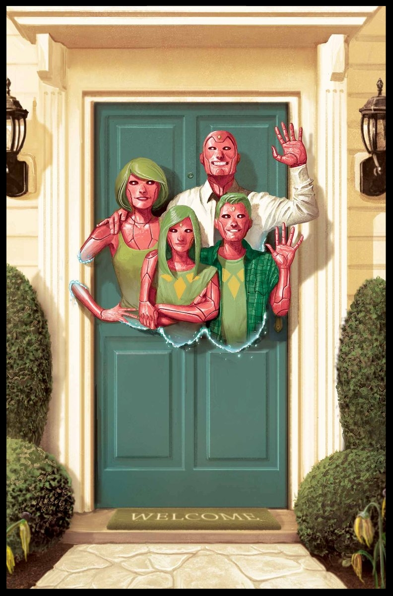 The Vision #1 Cover