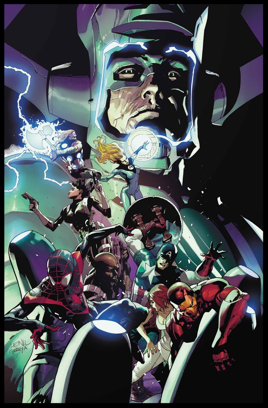 Cataclysm: Ultimates' Last Stand #1 Cover