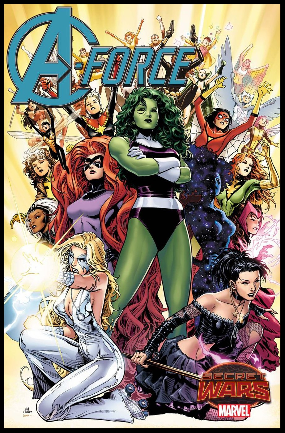 A-Force #1 Cover