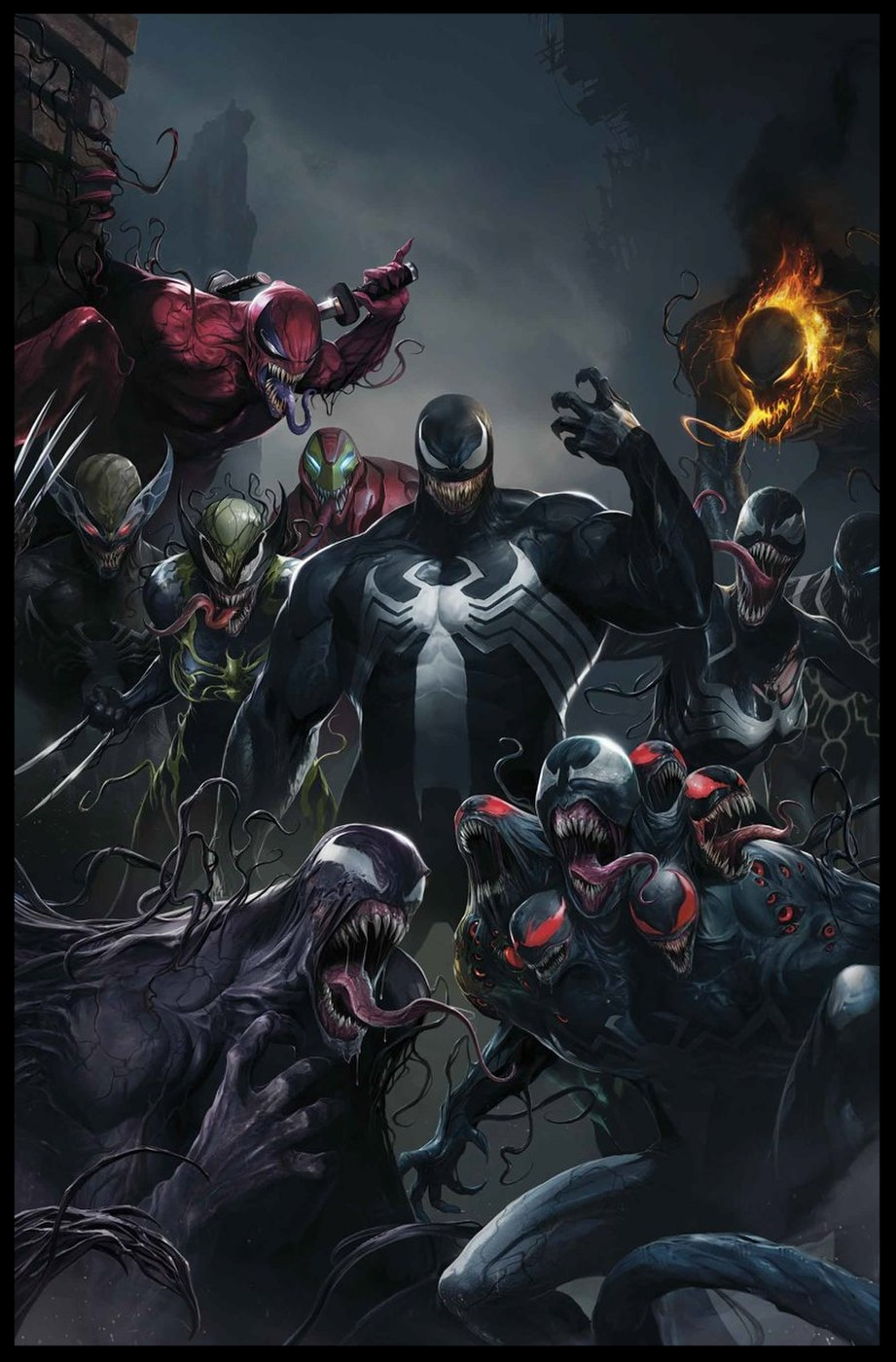 Edge of Venomverse #1 Cover