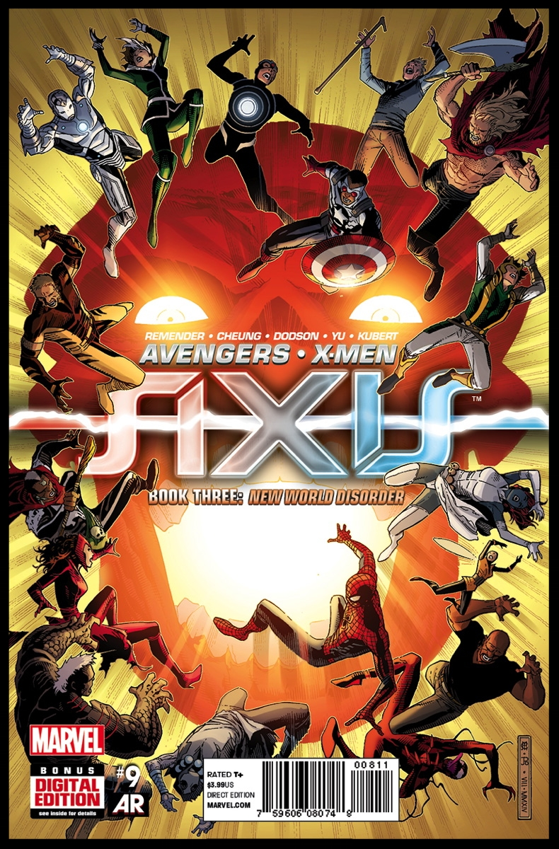 Avengers & X-Men: AXIS #9 Cover