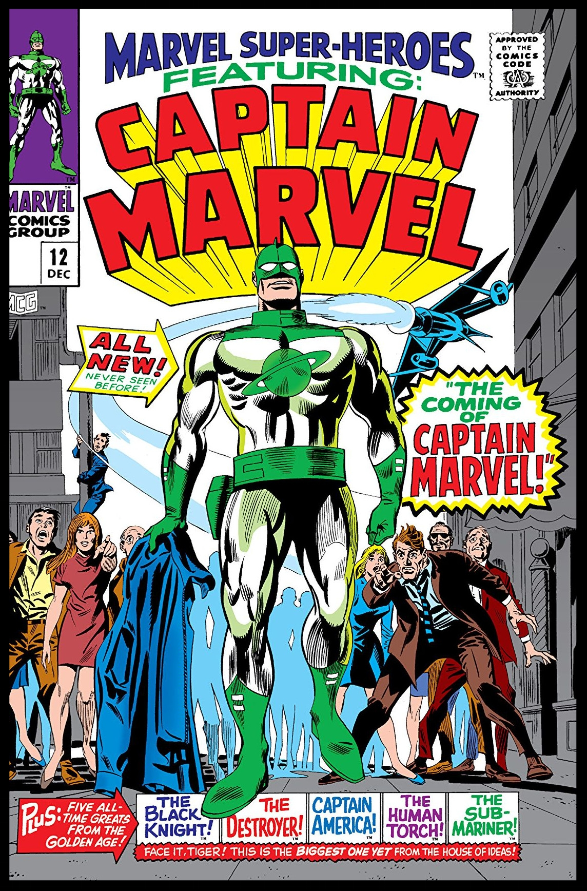 Marvel Super-Heroes #12 Cover