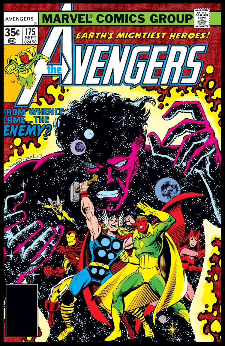 The Avengers #175 Cover