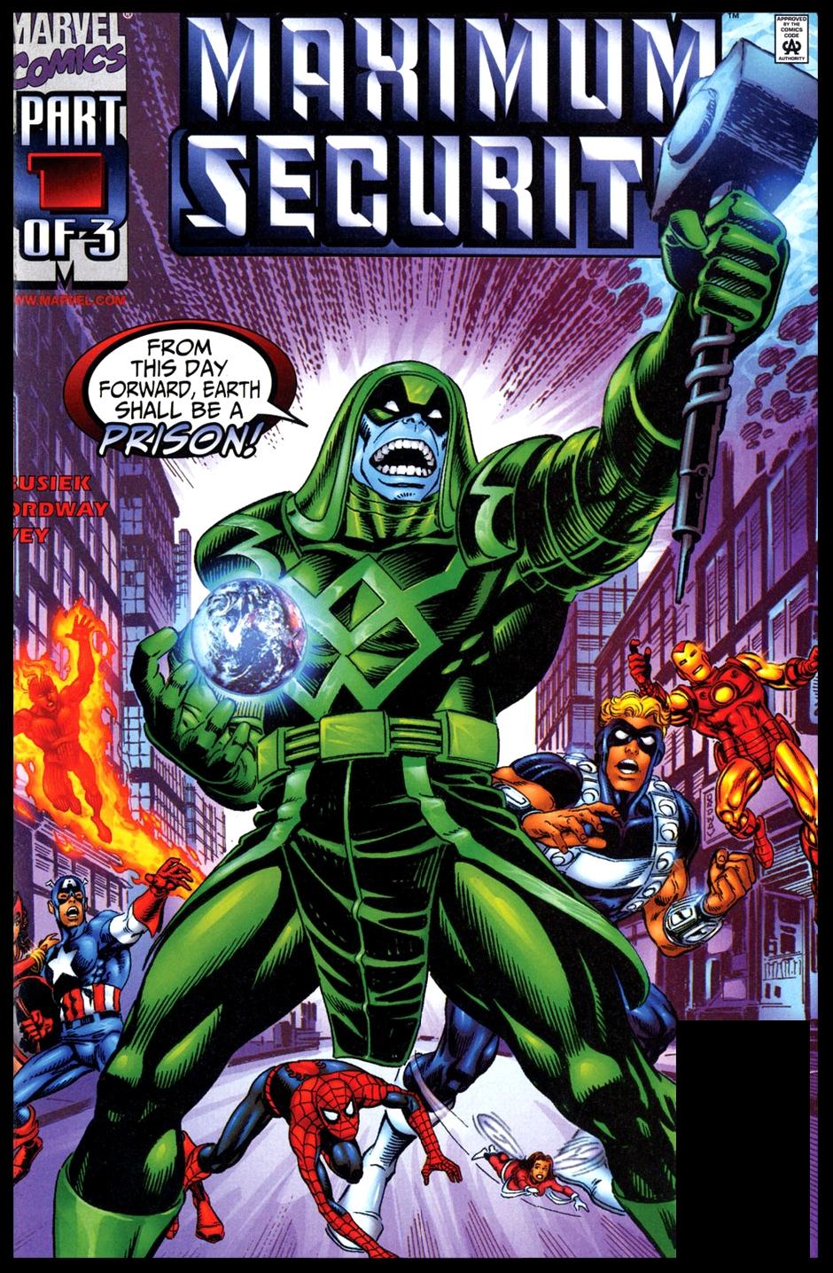Maximum Security #1 Cover