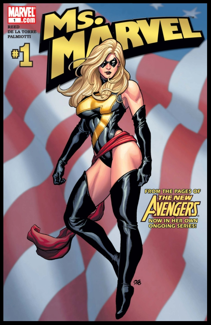 Ms. Marvel #1 Cover