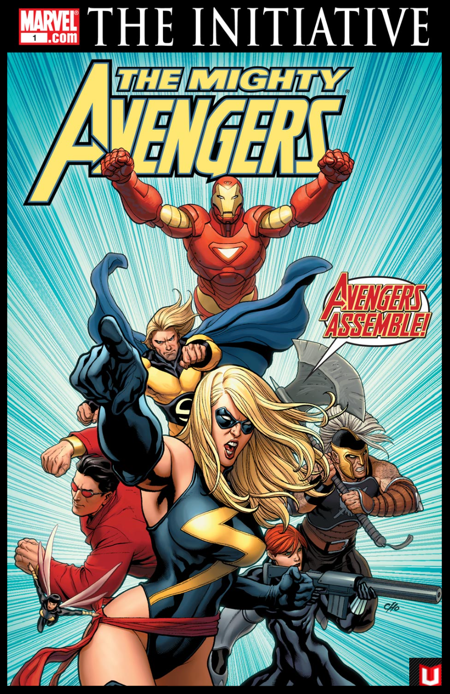 The Mighty Avengers #1 Cover