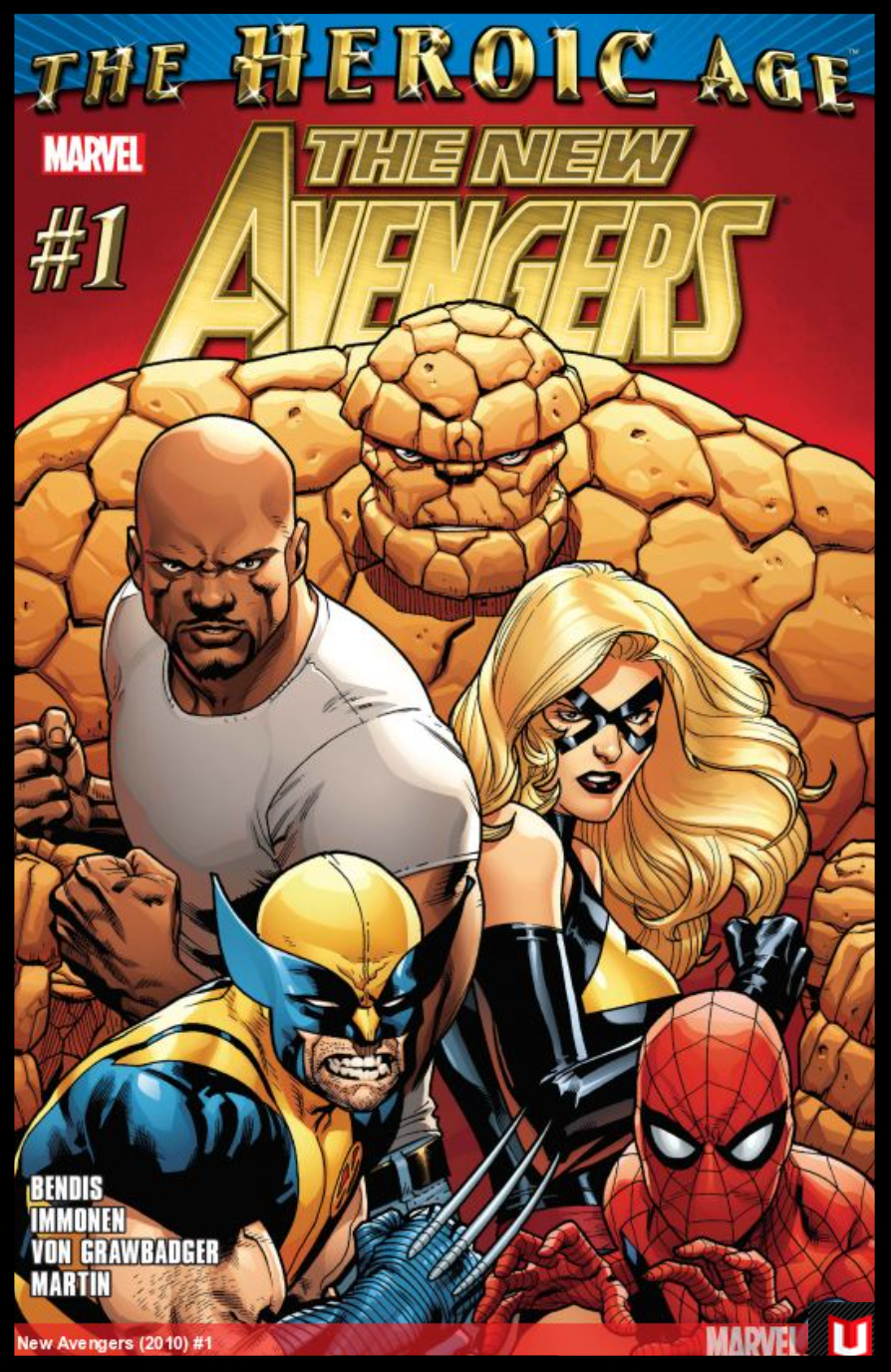 The New Avengers #1 Cover