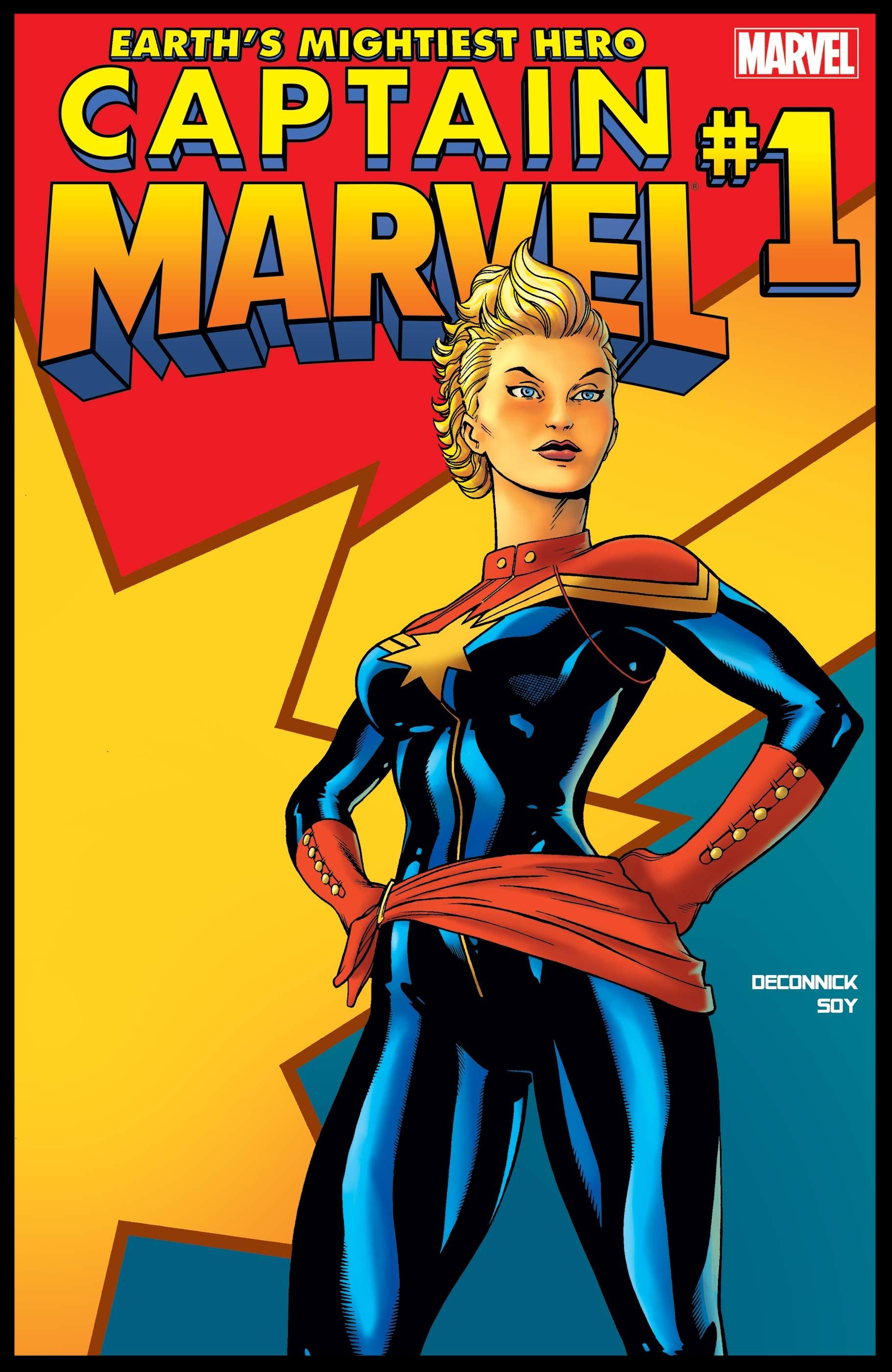 Captain Marvel (2012) #1 Cover