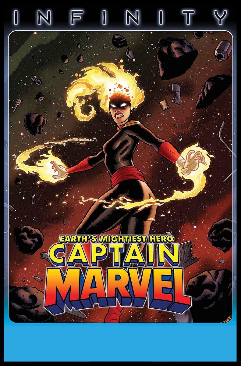 Captain Marvel (2012) #15 Cover
