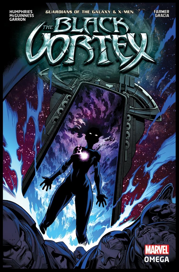 The Black Vortex Omega #1 Cover