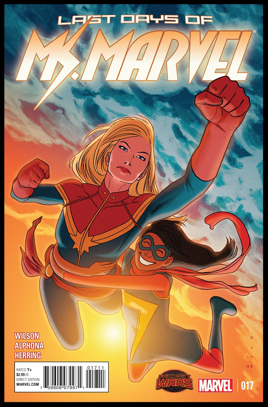 Ms. Marvel (2014) #17 Cover