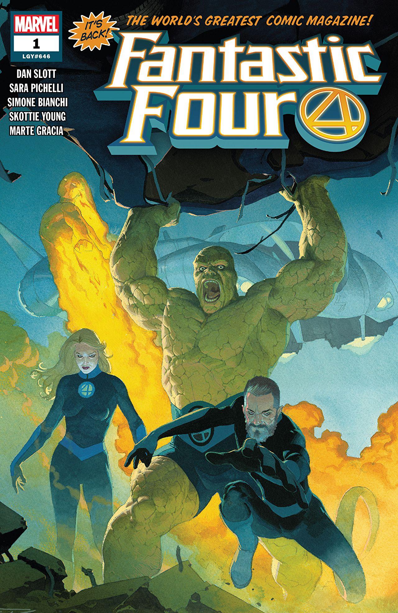 Fantastic Four (2018) #1 Cover