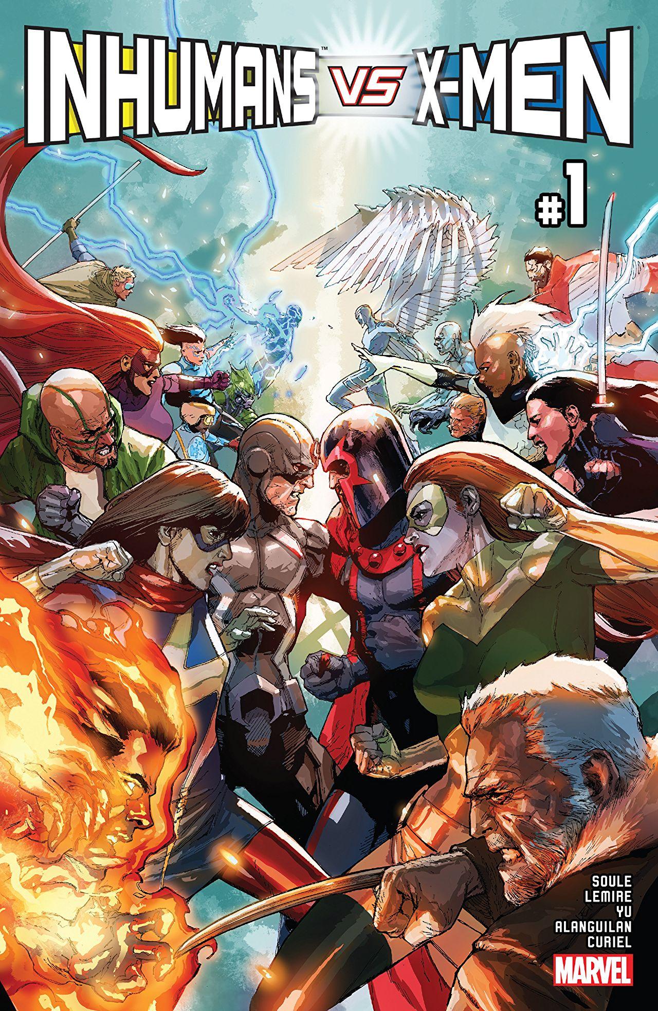 Inhumans vs. X-Men #1 Cover