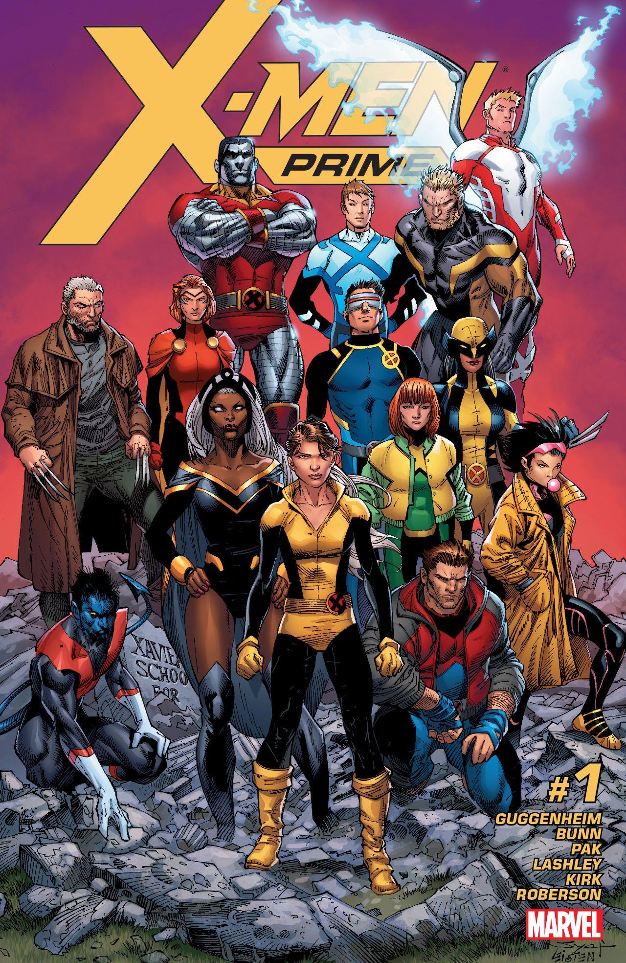 X-Men Prime #1 Cover