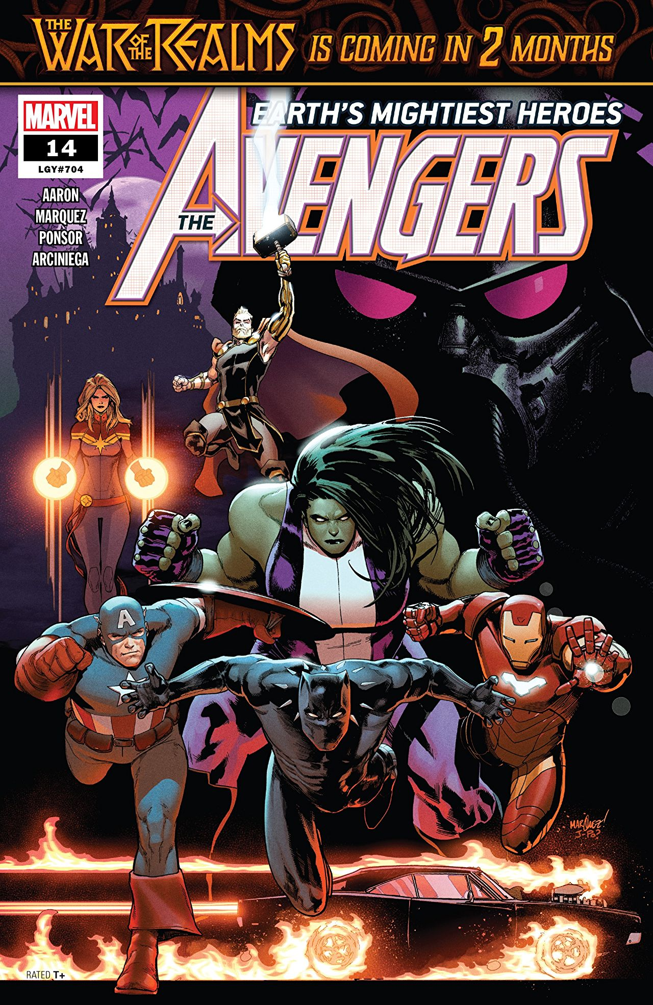 The Avengers (2018) #14 Cover