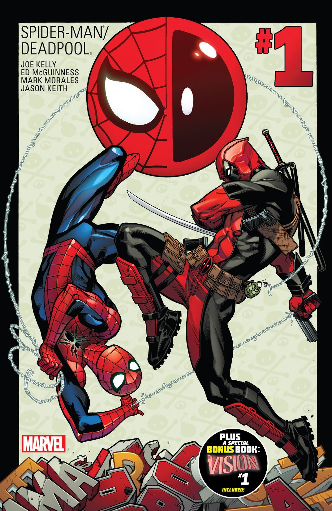 Spider-Man/Deadpool #1 Cover