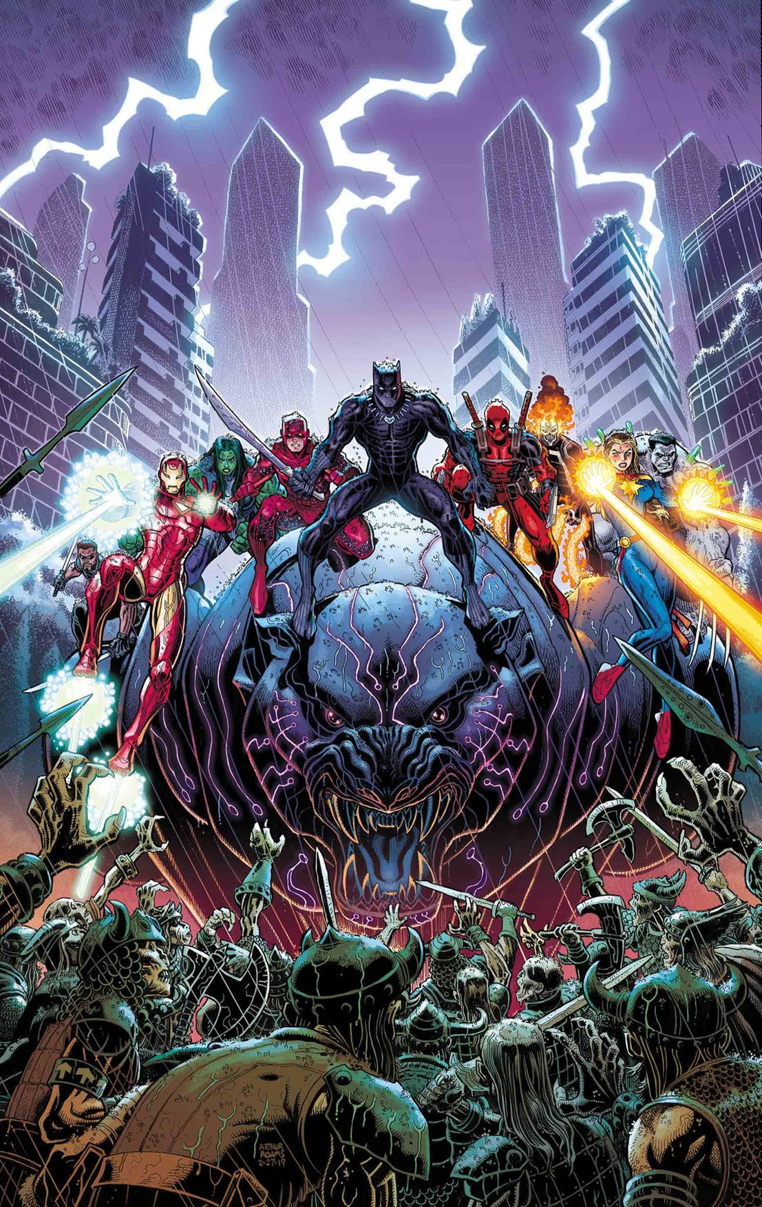War of the Realms #5 Cover