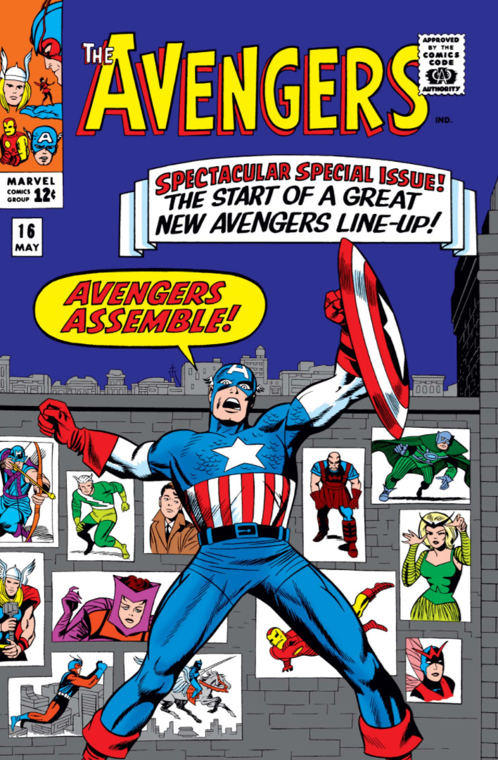 The Avengers #16 Cover