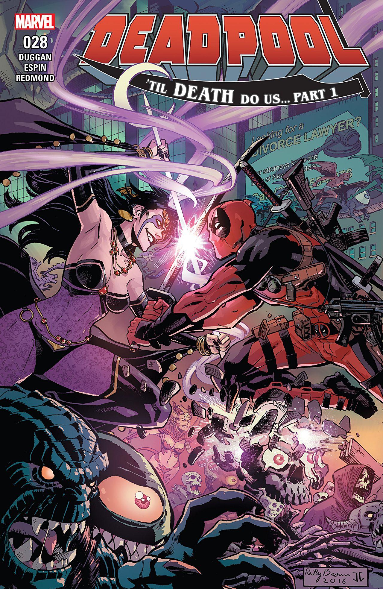 Deadpool (2015) #28 Cover