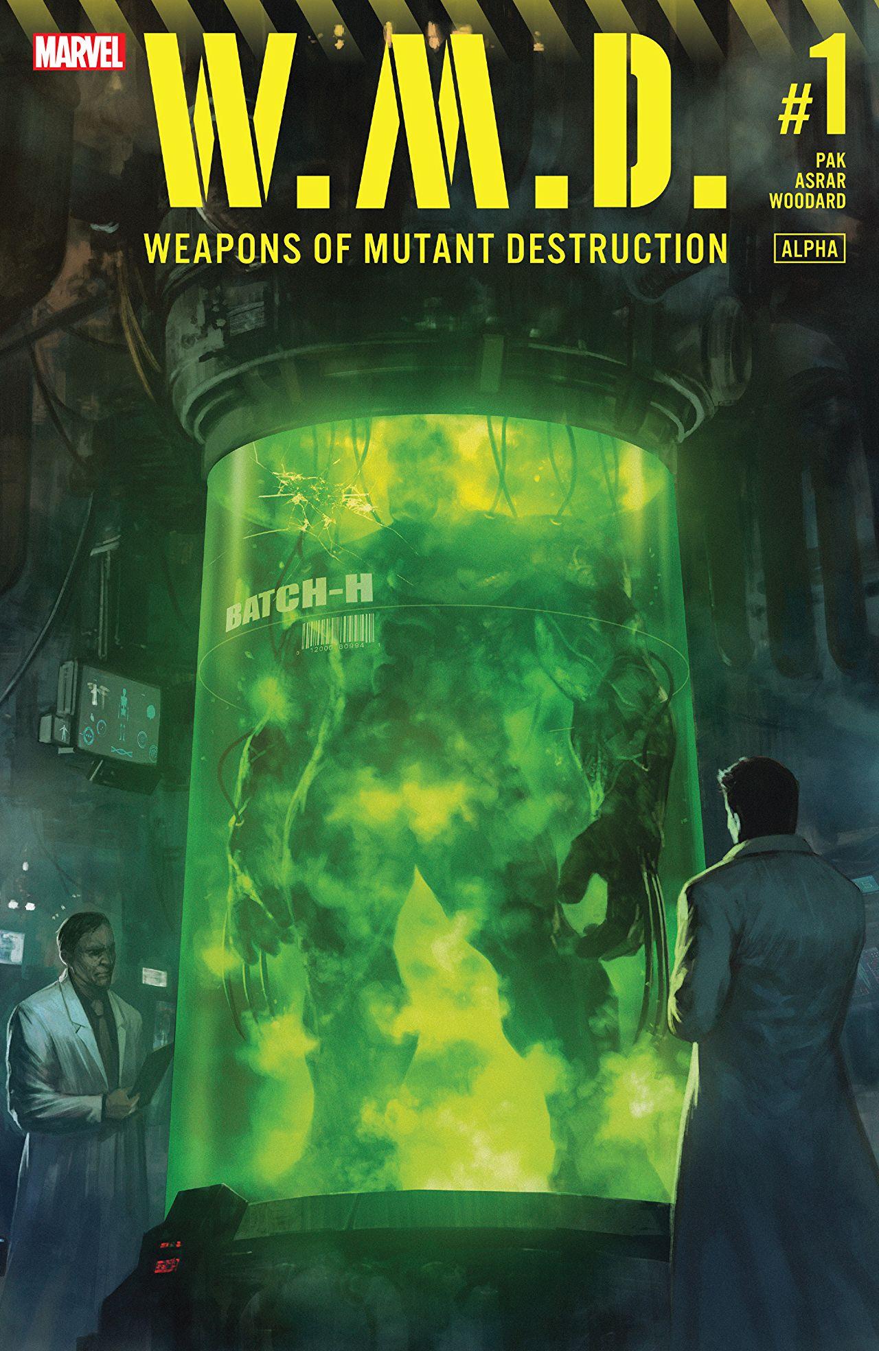 Weapons of Mutant Destruction Alpha #1 Cover