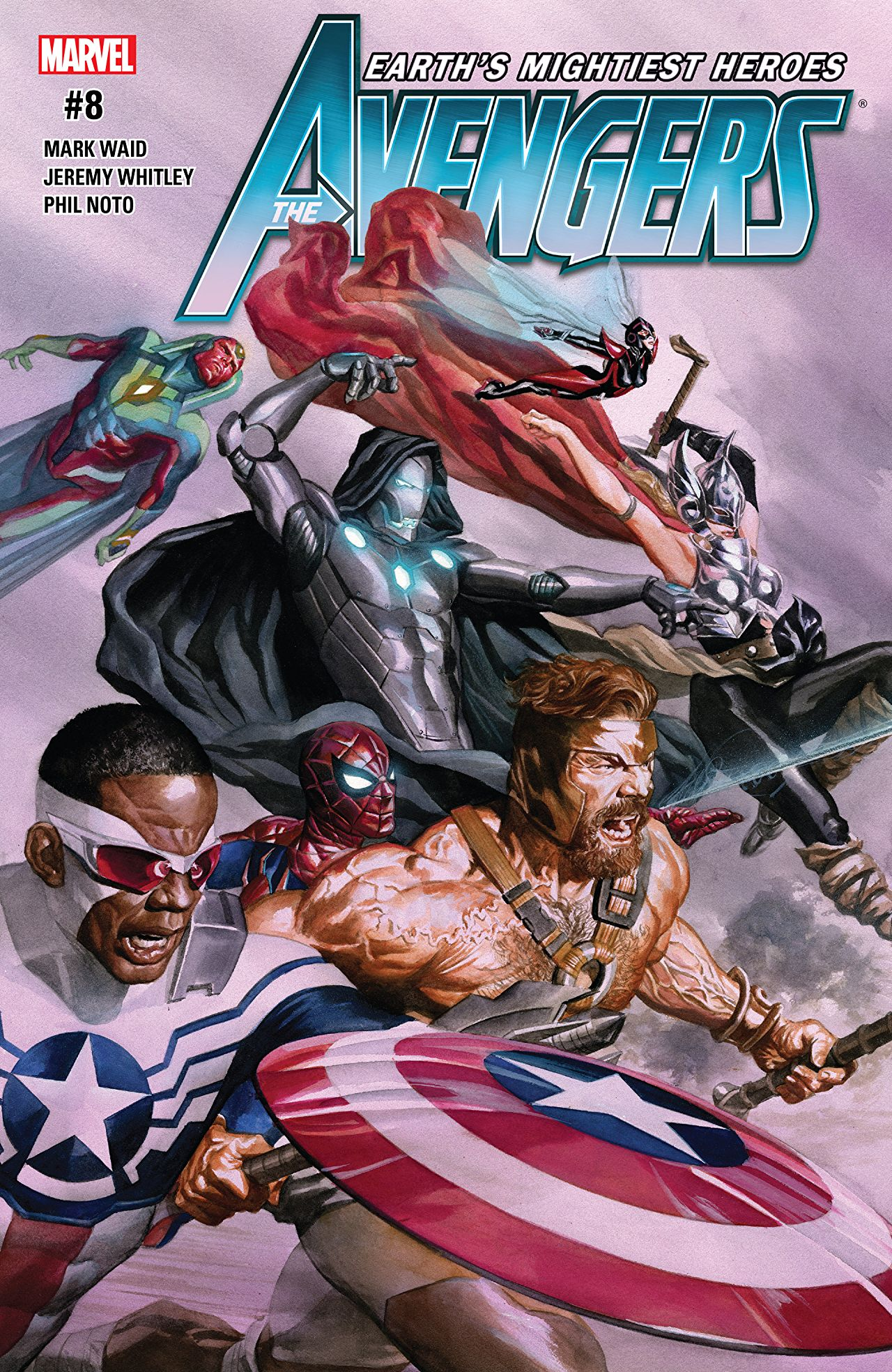 The Avengers (2016) #8 Cover