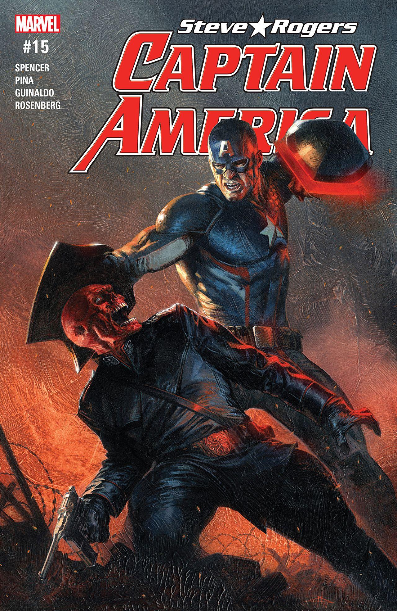 Captain America: Steve Rogers #15 Cover