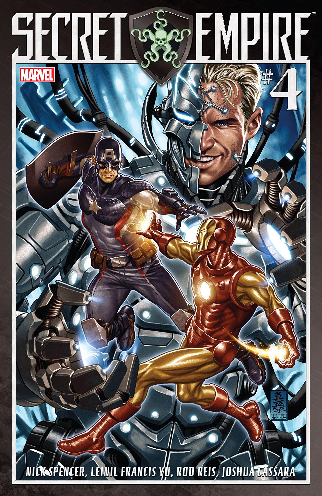 Secret Empire #4 Cover