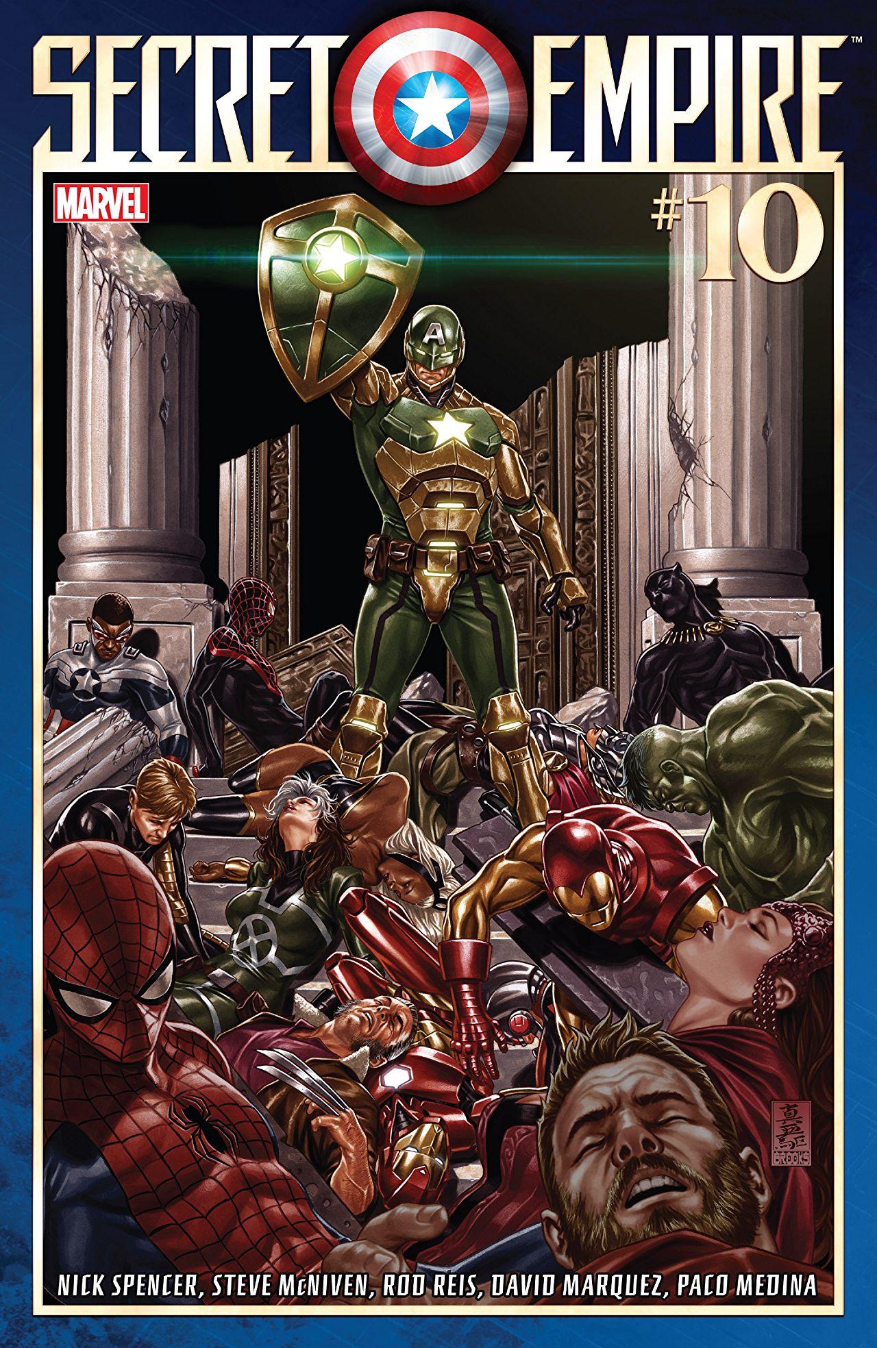 Secret Empire #10 Cover