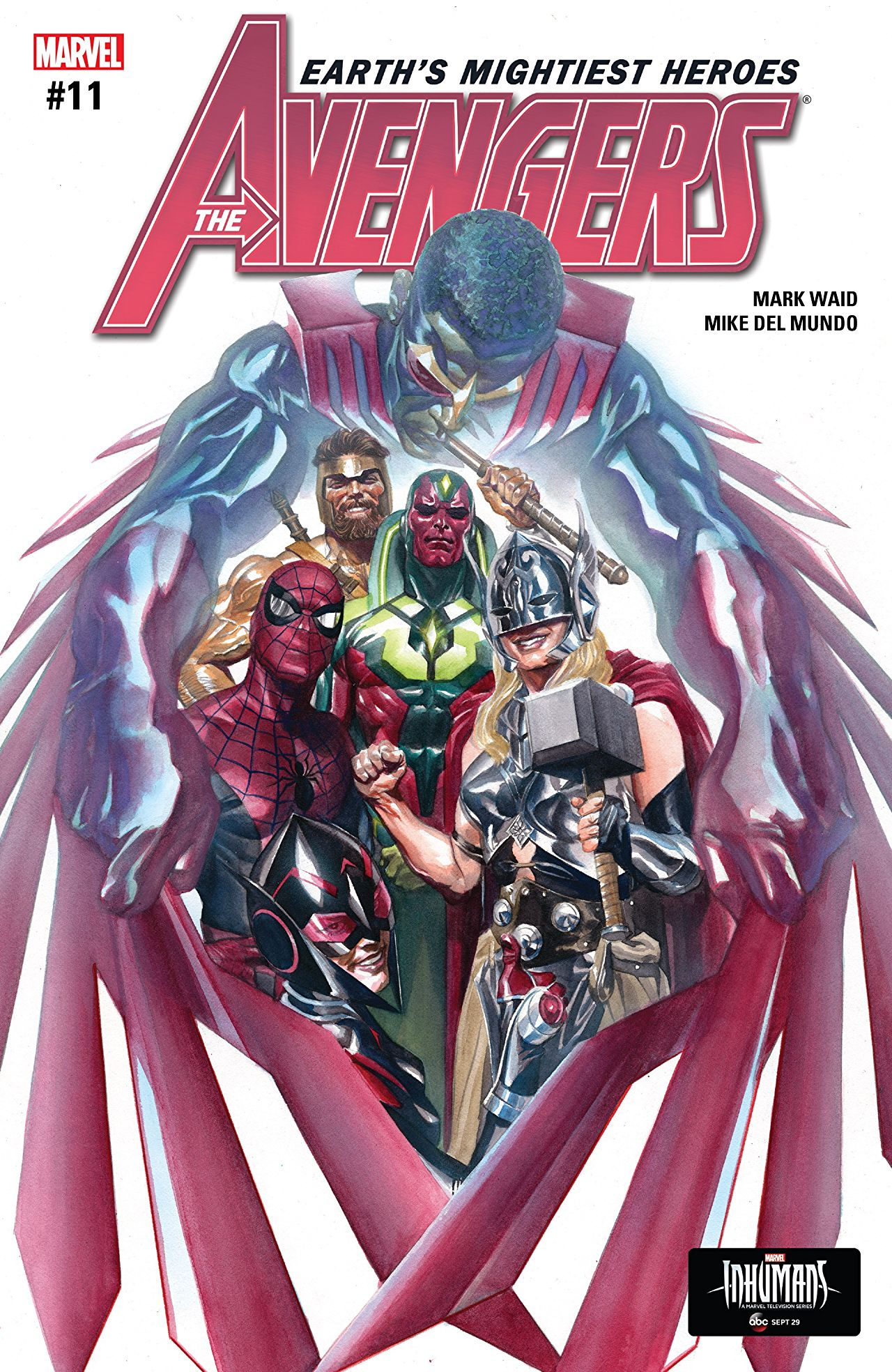 The Avengers (2016) #11 Cover