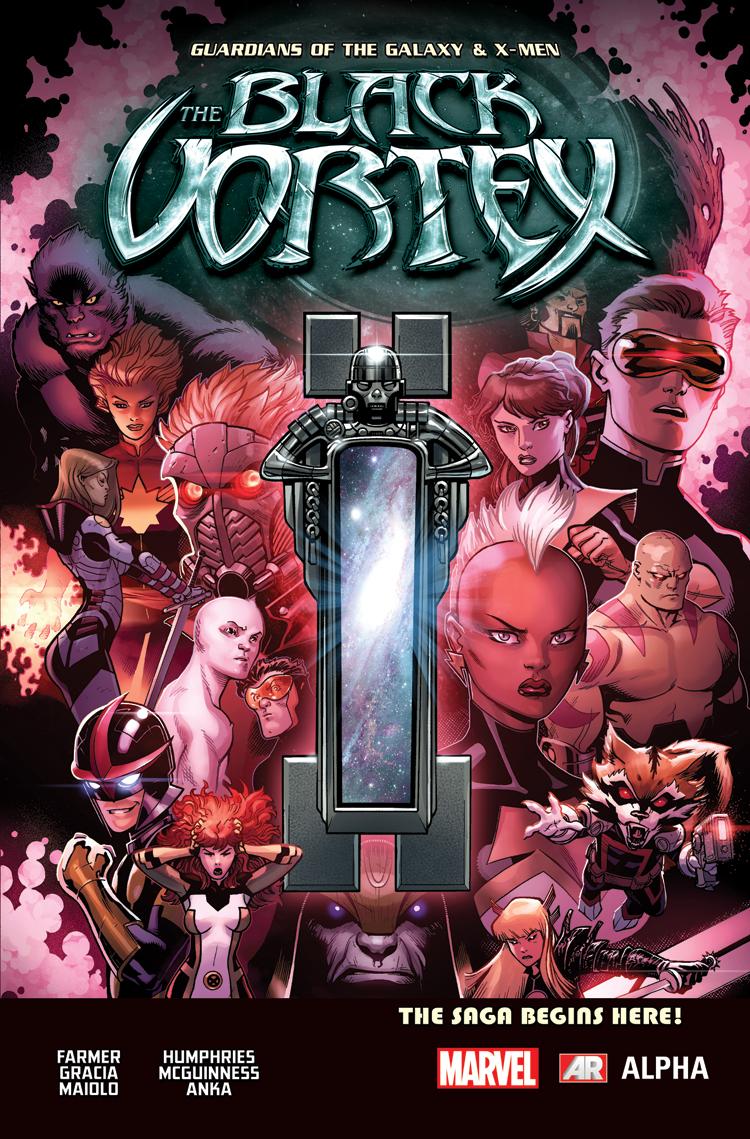 The Black Vortex Alpha #1 Cover