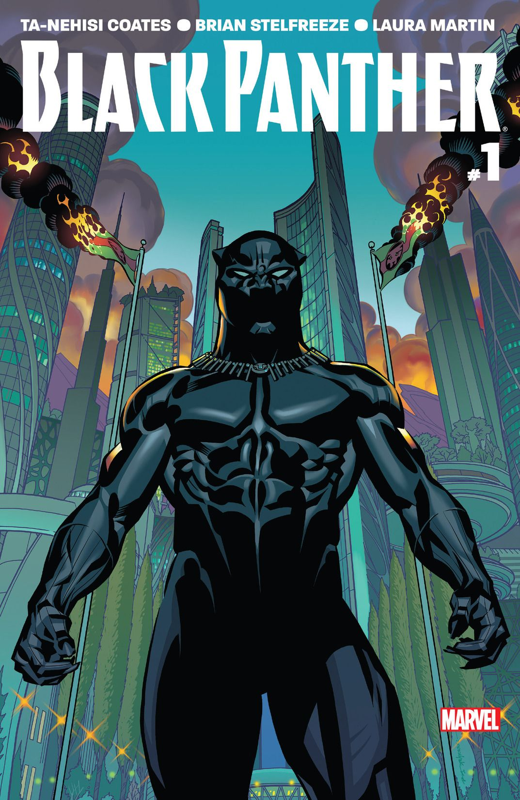 Black Panther (2016) #1 Cover