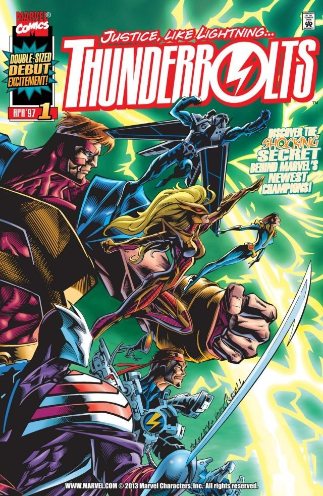 Thunderbolts (1997) #1 Cover