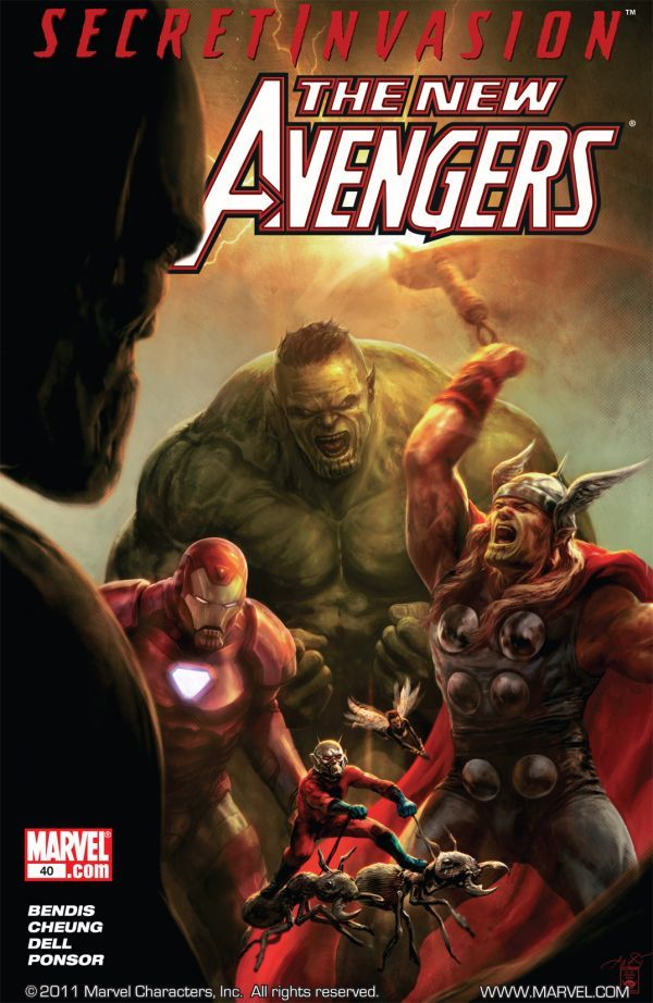 The New Avengers #40 Cover