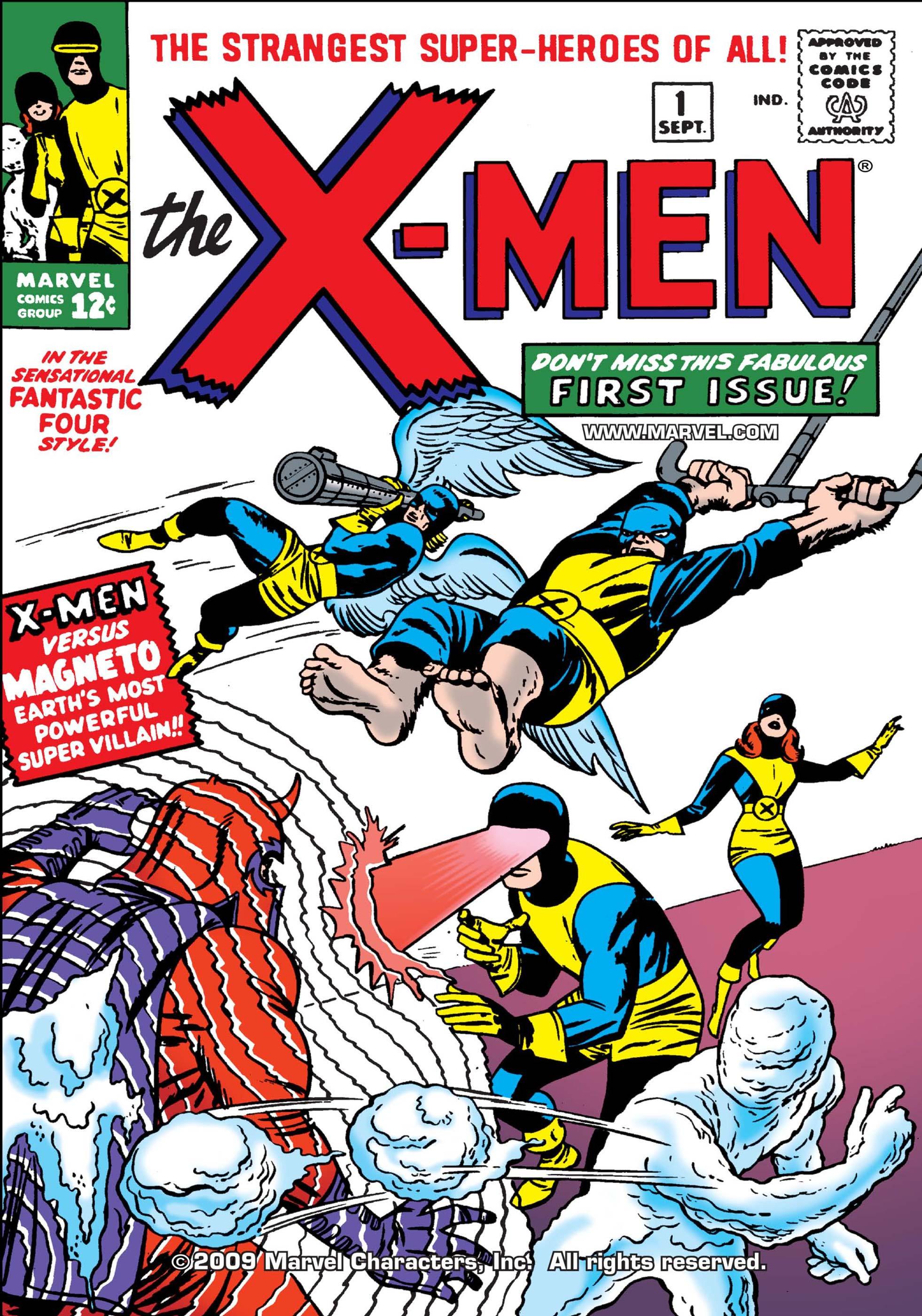The X-Men (1963) #1 Cover