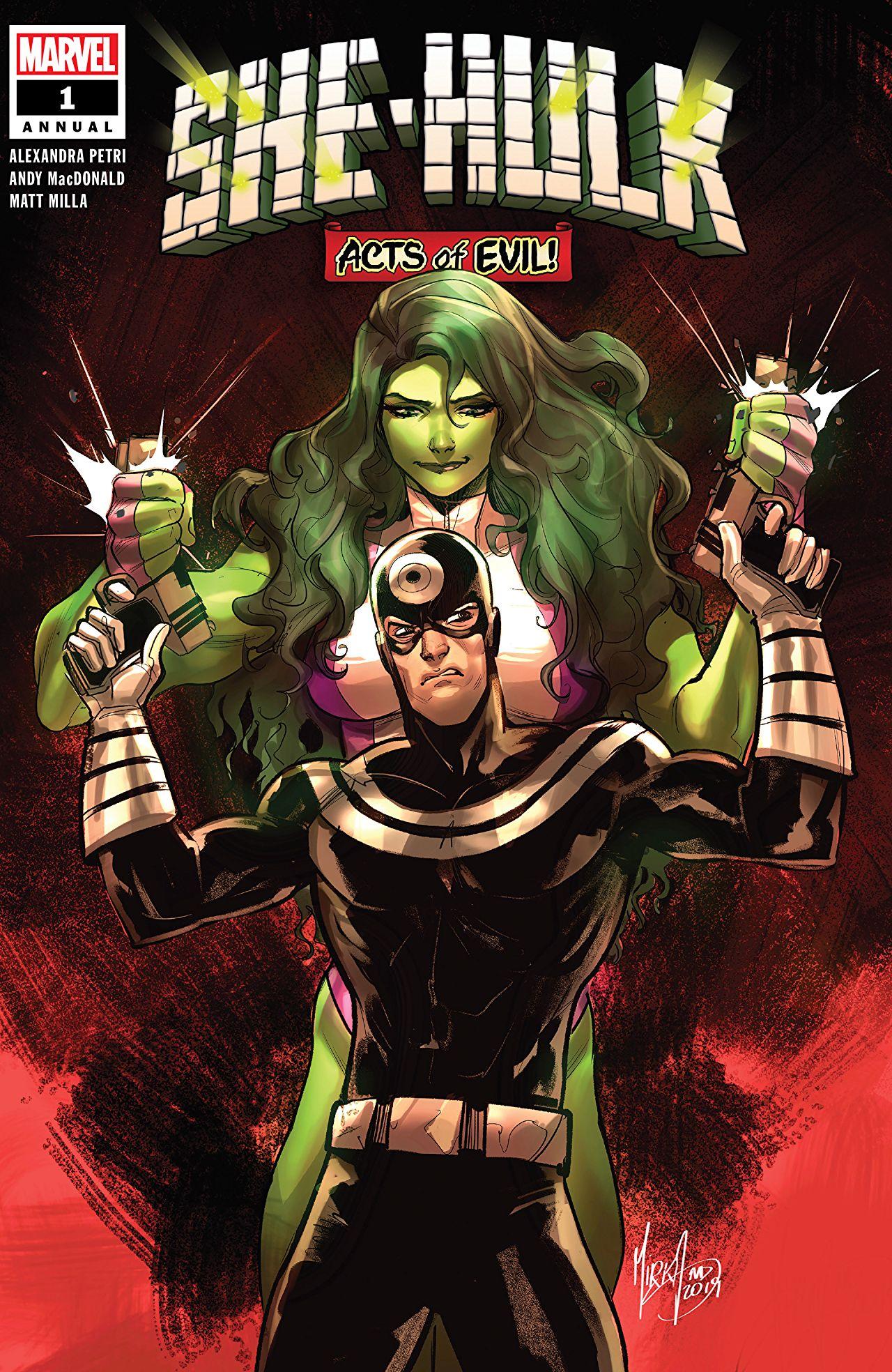 She-Hulk Annual (2019) #1 Cover