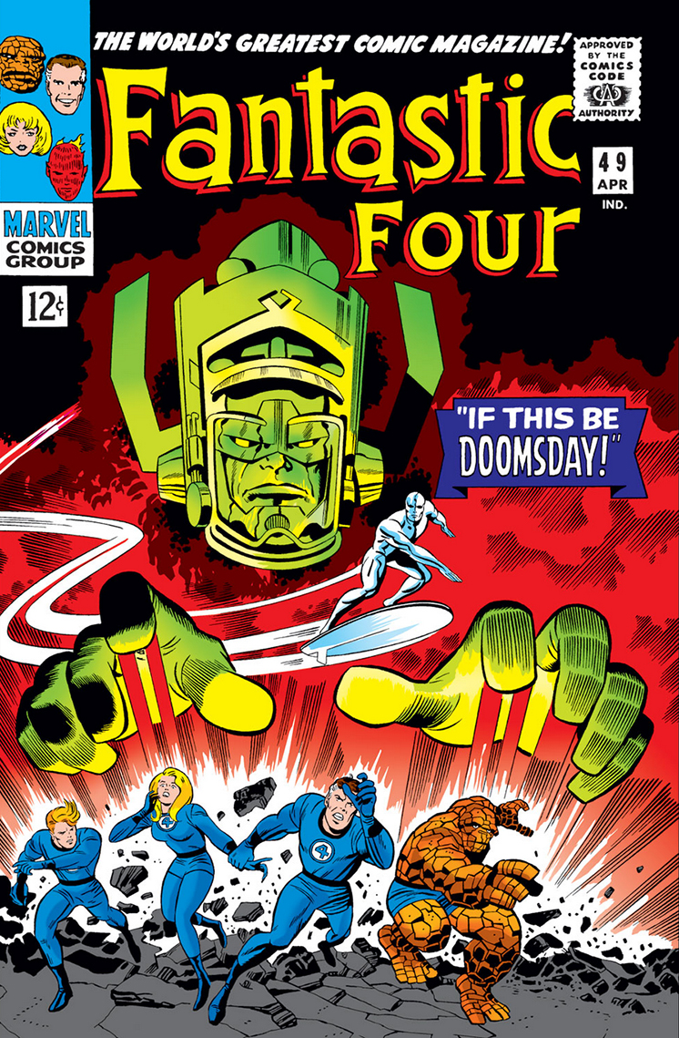 Fantastic Four #49 Cover
