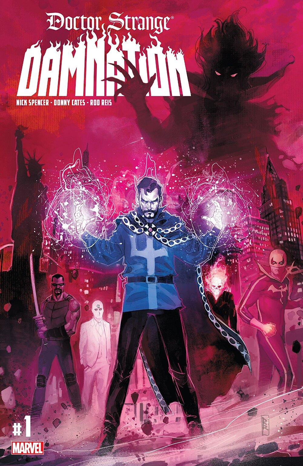 Doctor Strange: Damnation #1 Cover