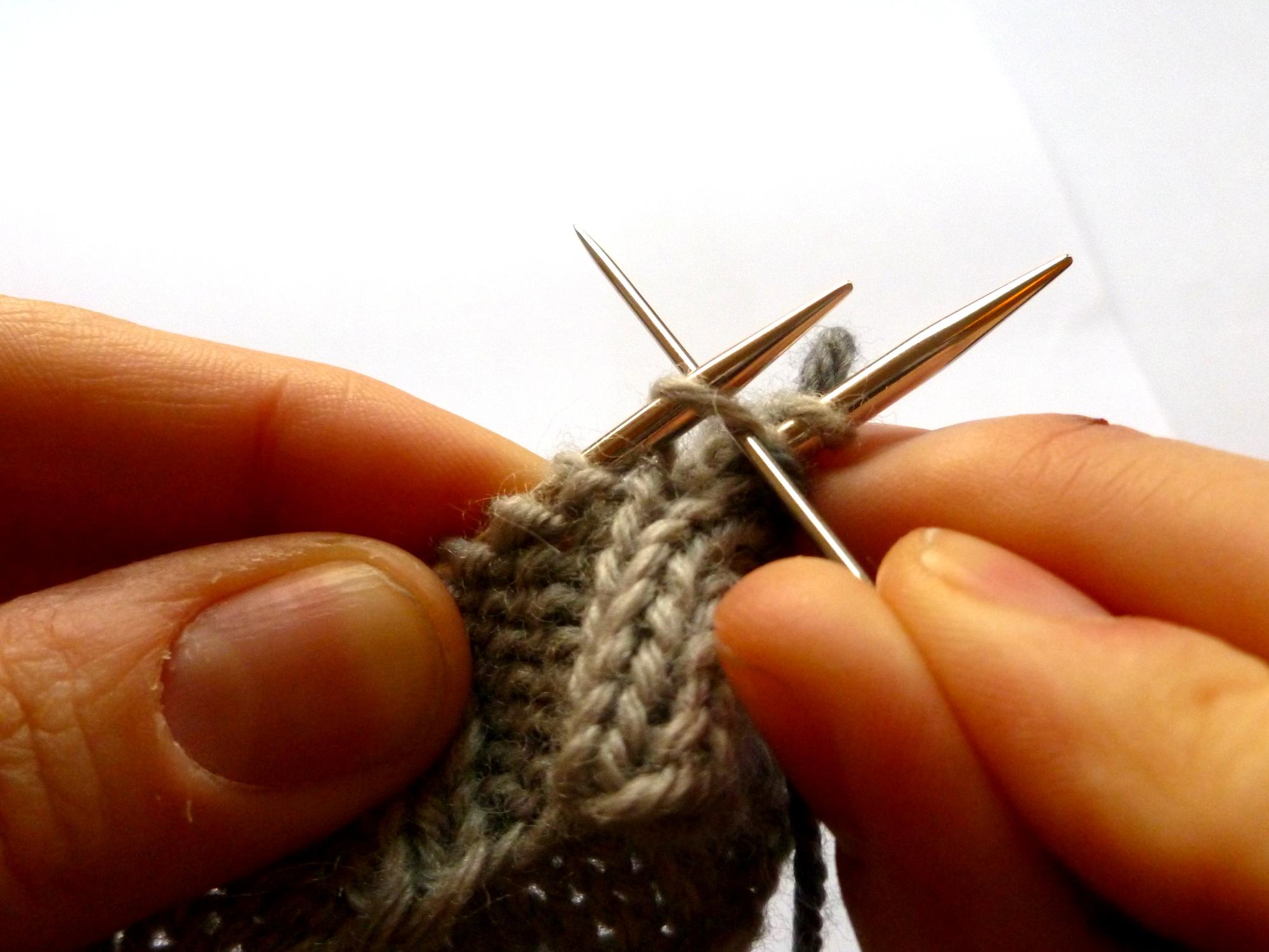 F: Knit off...