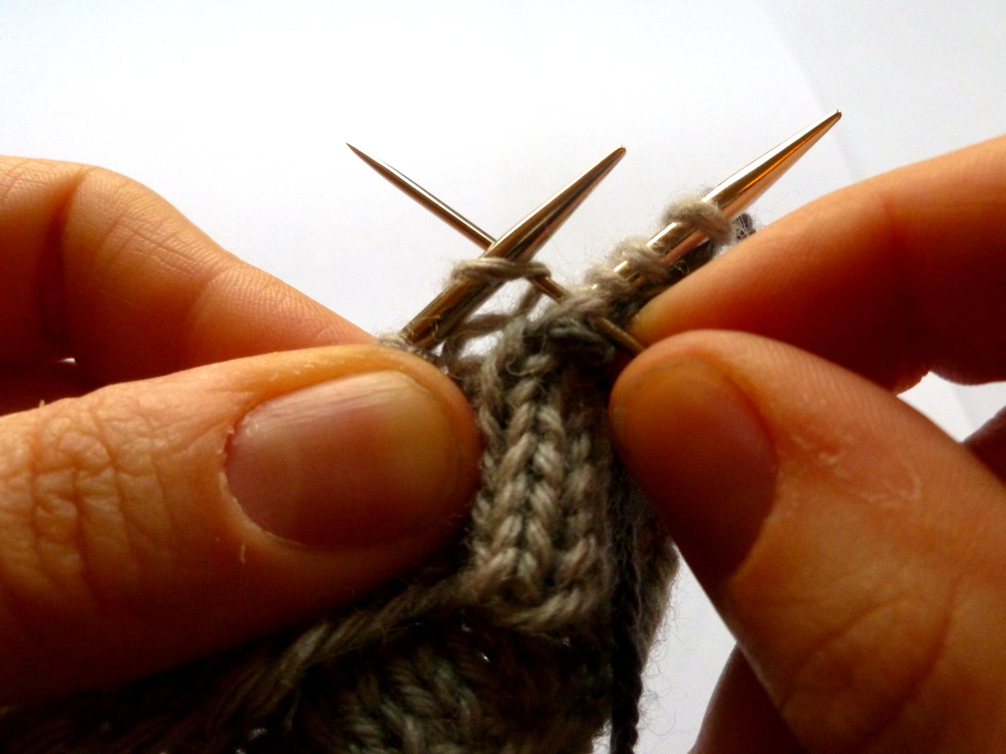 F: Knit on...