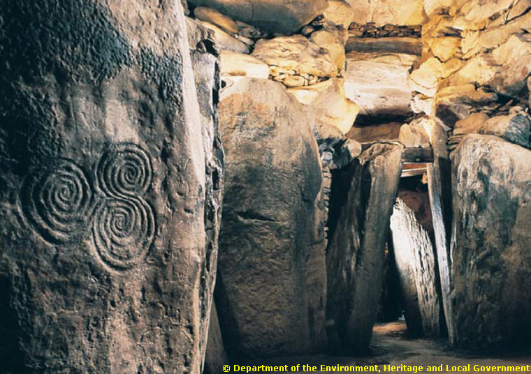 Newgrange Spiral Art. Photo Origin: https://www.newgrange.com/tri-spiral.htm